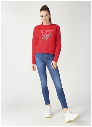 Guess Sweatshirt Kırmızı